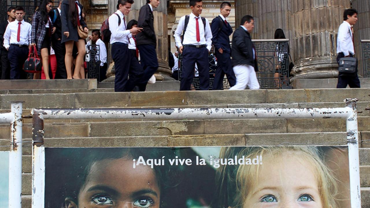 #FotoDelDía: Aquí vive la igualdad
