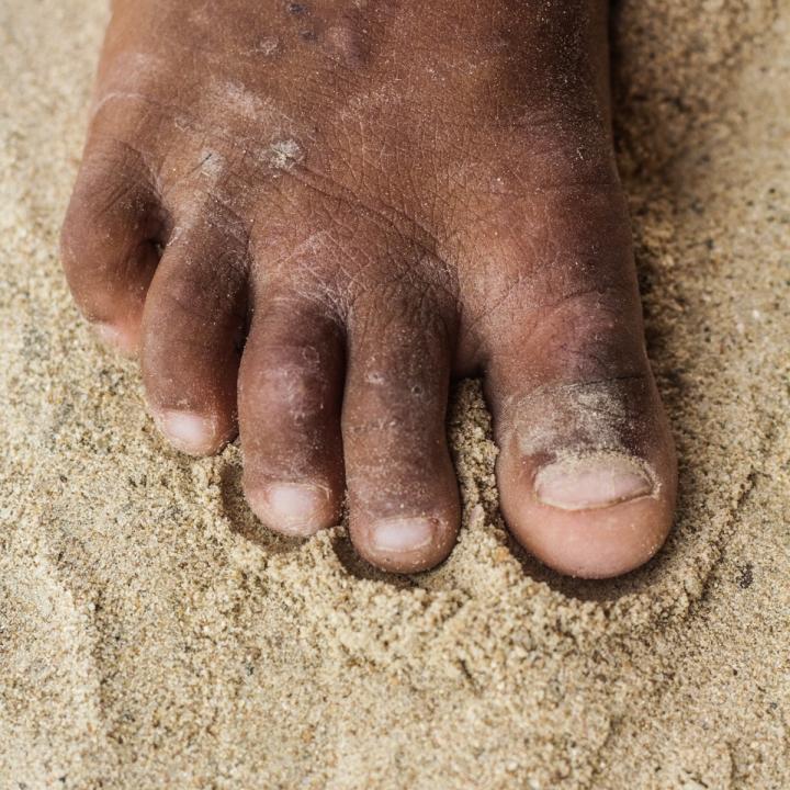 Marcas en la arena