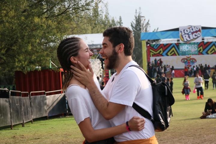 Los festivaleros tuvieron la oportunidad de divertirse junto a sus seres queridos.