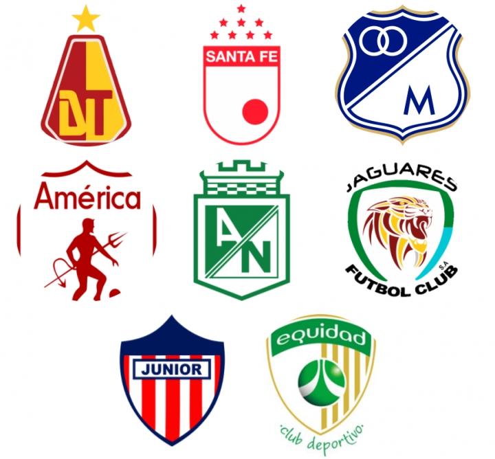 Equipos que continúan en el torneo de la Liga Aguila