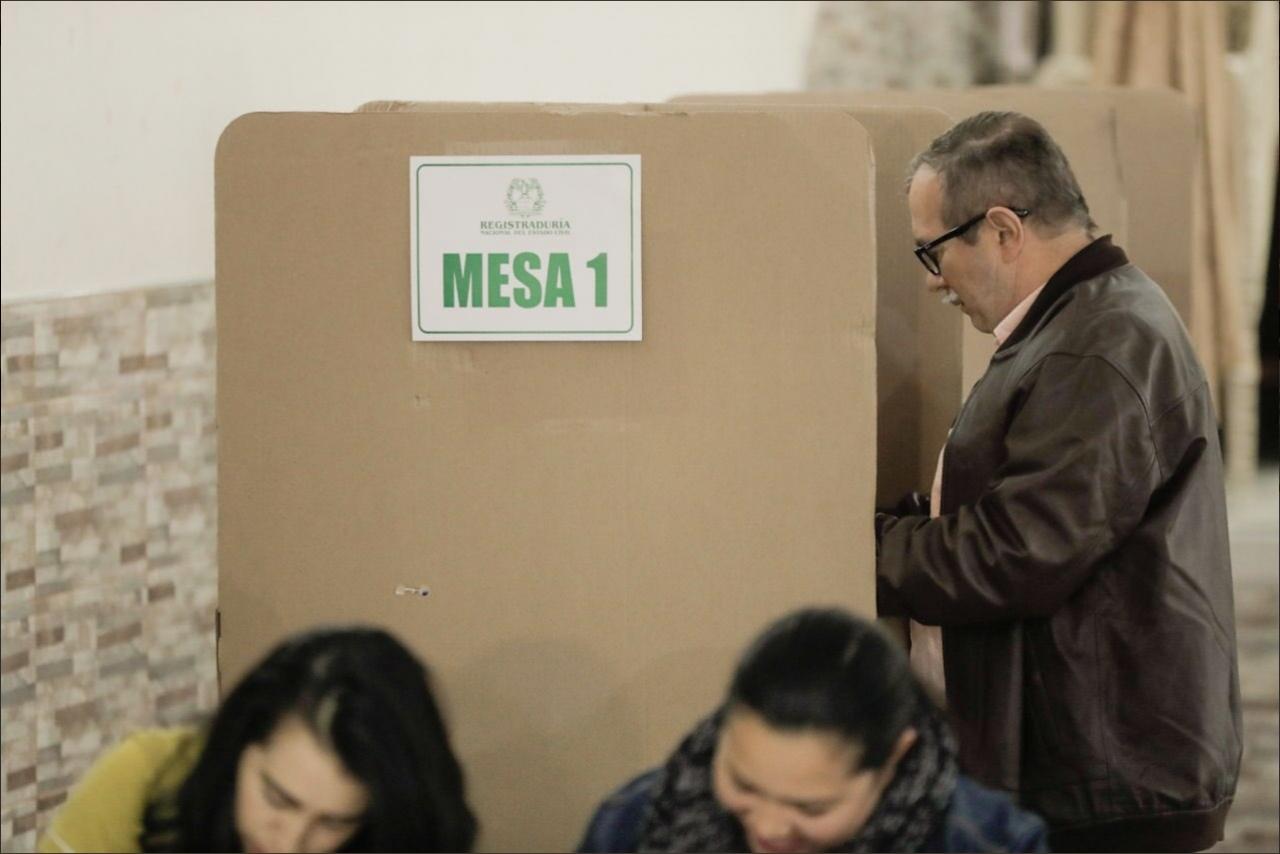 Integrantes de la Farc participaron en las elecciones presidenciales