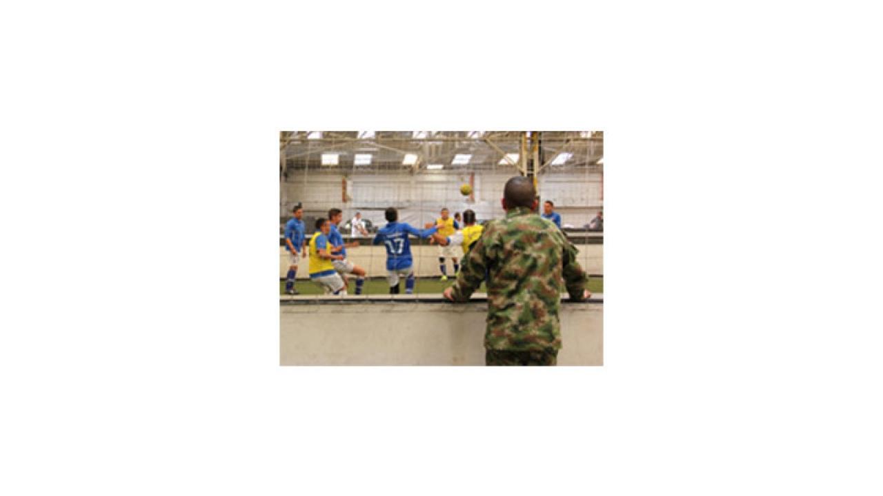 Batallón Caldas hace una apuesta por el fútbol cinco