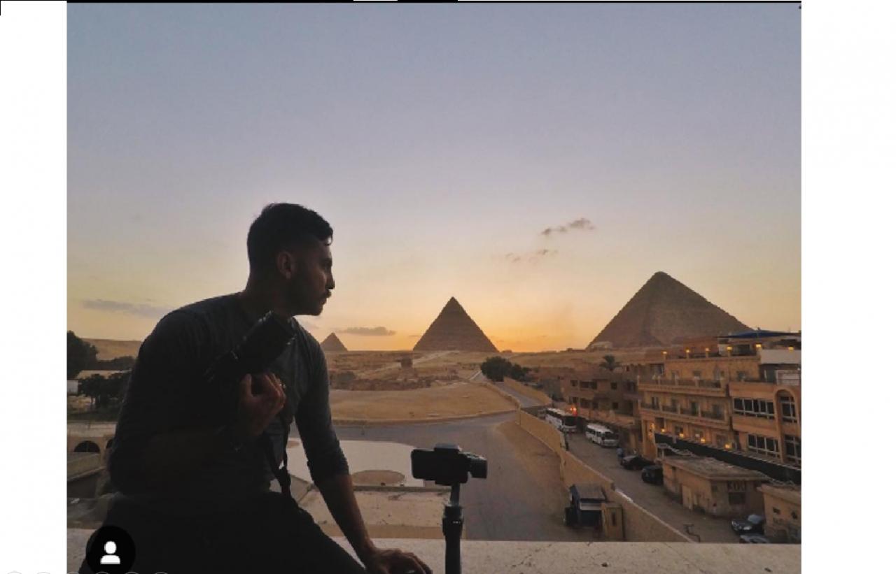 Dan Gamboa, un arquitecto que se dedica a viajar y fotografiar el mundo