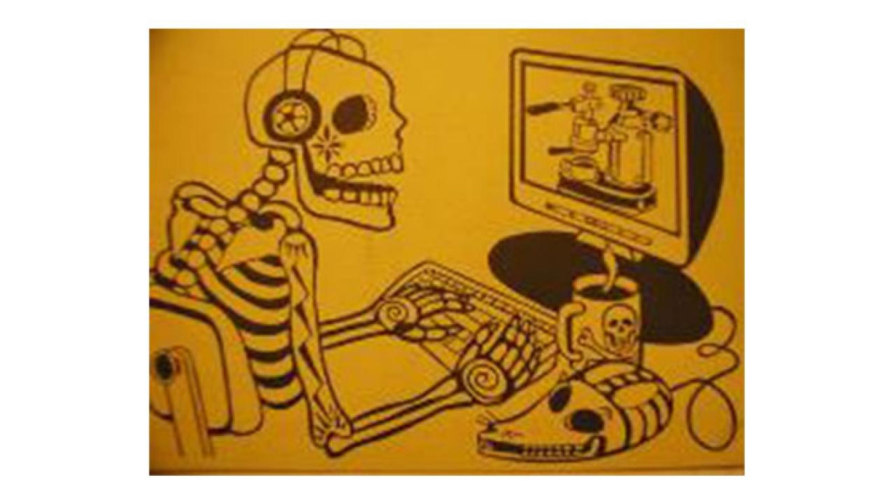 """""""¿Quiere twittear desde la tumba? DeadSocial promete inmortalidad en línea"""":DeadSoci.al"""
