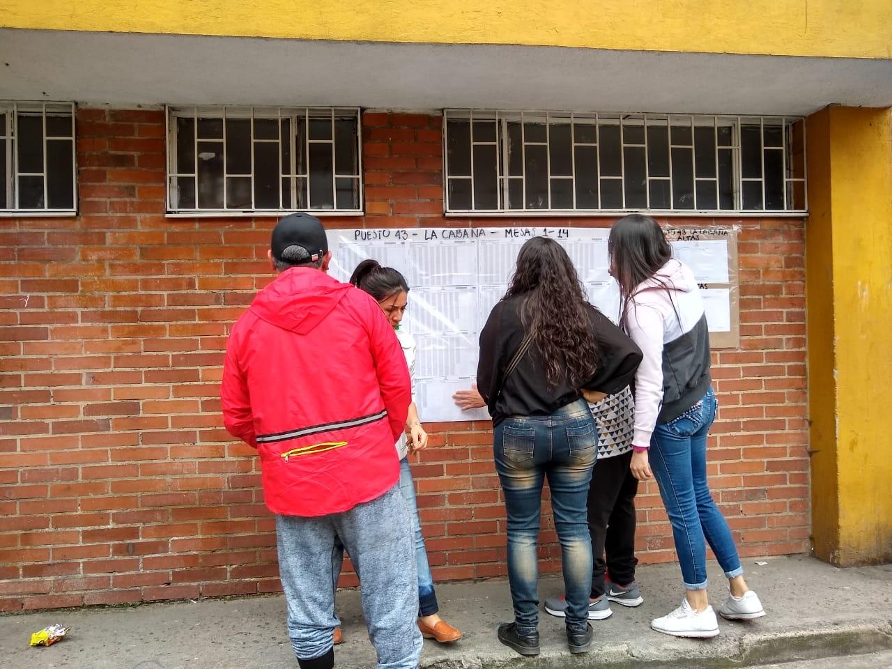 Jornada electoral en la localidad de Engativá