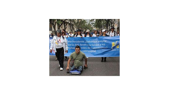 Marcha contra las EPS