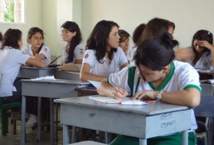 Las aulas del colegio Avelina Moreno esperan tener a sus estudiantes de nuevo.