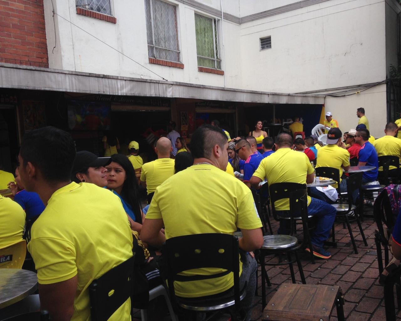 La clasificación de la Selección se vivió en la casa del campeón de Colombia