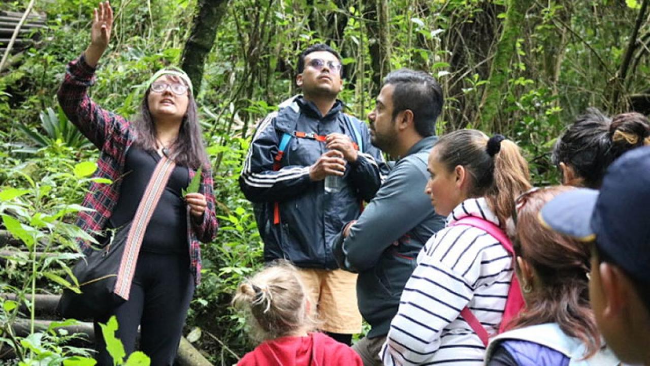Sendero de San Francisco: una aula ambiental de conservación
