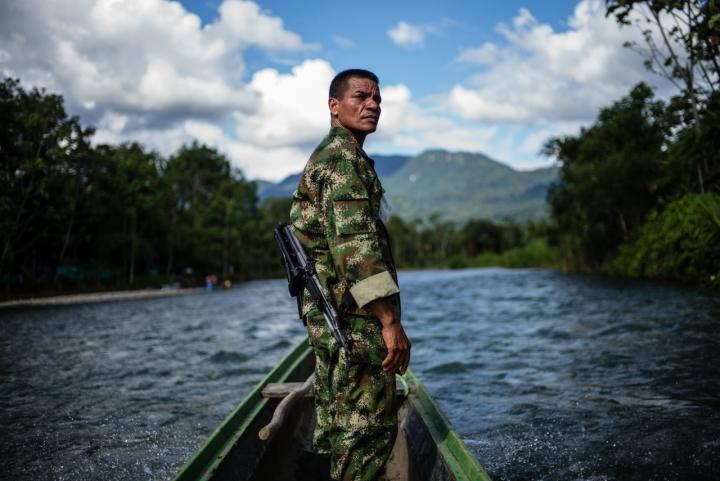 'No esperaba que Verde tuviera el impacto que está teniendo por ser un libro crítico con las FARC, con el gobierno y con la sociedad', Federico Ríos sobre Verde, la obra gráfica que documenta a las FARC