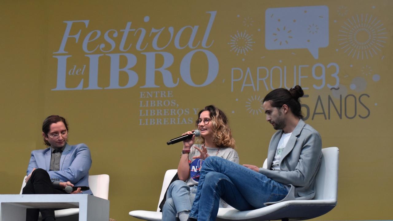 Con La Pulla y Alma Guillermoprieto, cerró el Festival del Libro del Parque 93