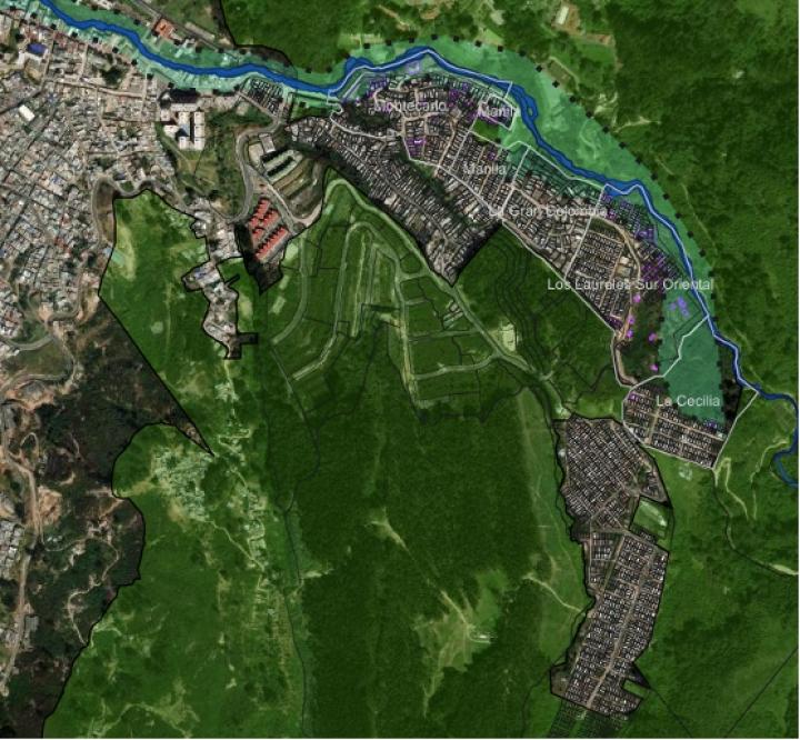 Zona que comprende el Altofucha. 2019.