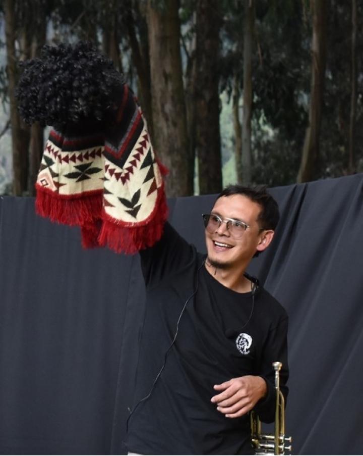 Ivan Murcia, líder comunitario del Altofucha