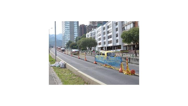 Empiezan las obras en la calle 116 con carrera novena