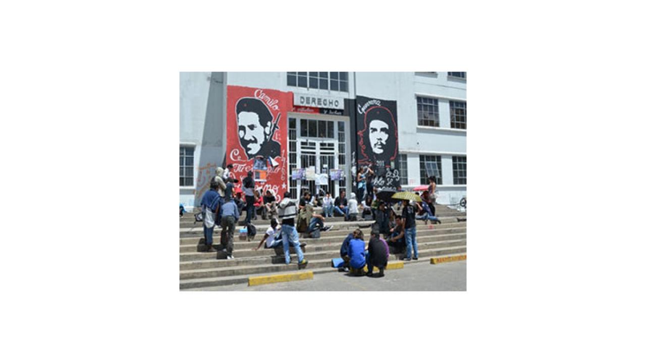 Los estudiantes apoyan el paro de trabajadores de la Universidad Nacional