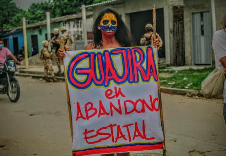 Oda fotográfica a esas mujeres que marchan por el país que sueñan...