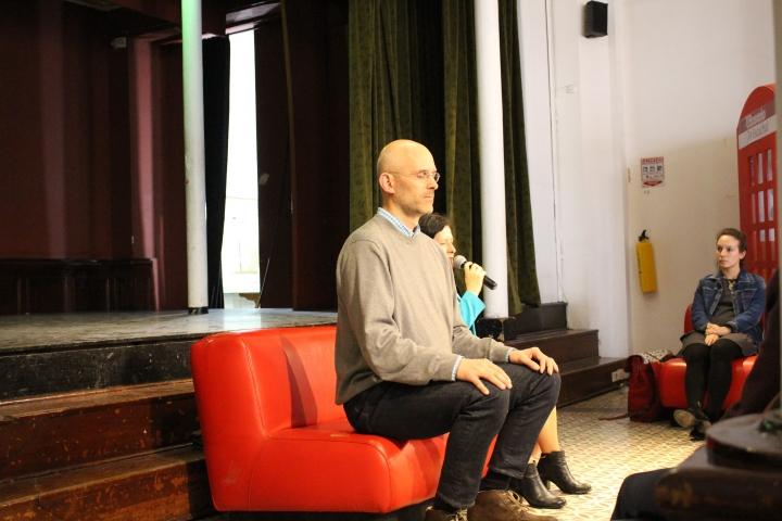 Alex Estreuble director del programa Mindfulness de la Universidad del Rosario