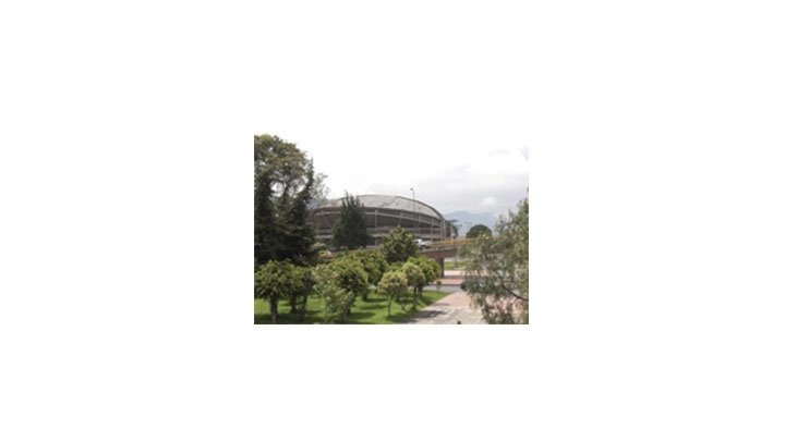 Vista del Coliseo el Campín.