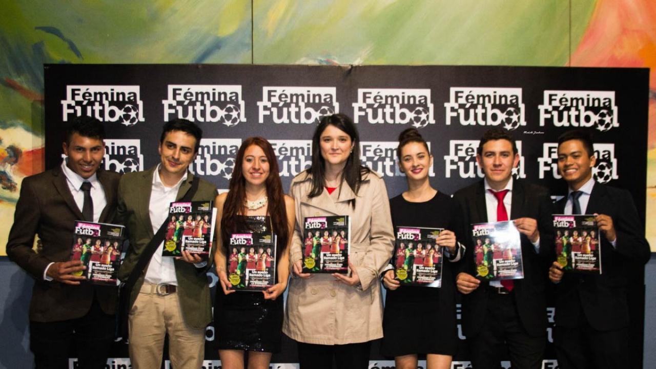 Fémina, la primera revista de fútbol femenino en Latinoamérica
