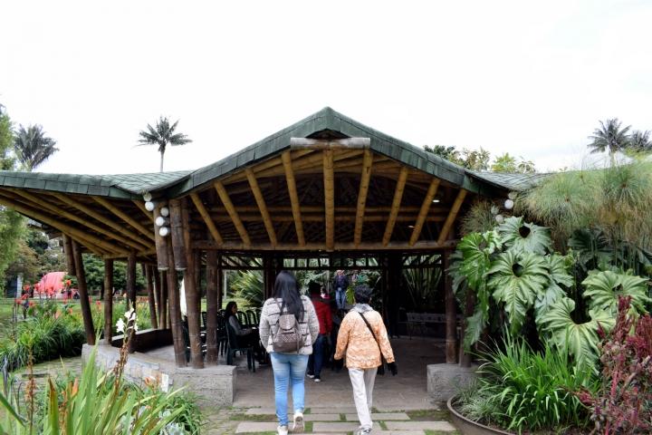 Visitantes en el Aula Ambiental
