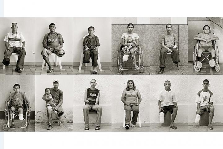 Retratando a las victimas de las minas antipersonales en Colombia