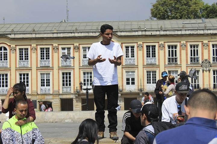 Ivan Ricardo Rodriguez fue el organizador en cabeza de este evento. Aunque su Pitbull murió días previos al plantón, él fue a hacer presencia y a regar la voz sobre los distintos cambios a los dueños de Pitbulls y razas peligrosas.