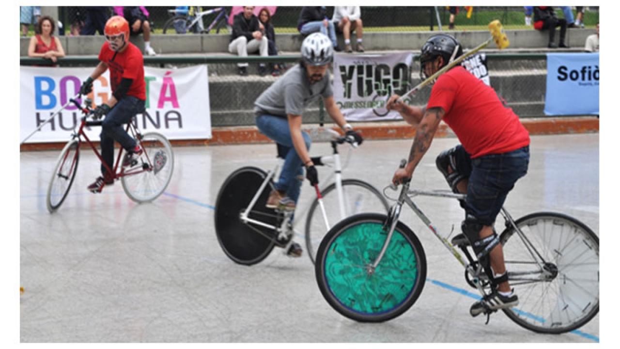 Así se vivió el torneo de Bike Polo