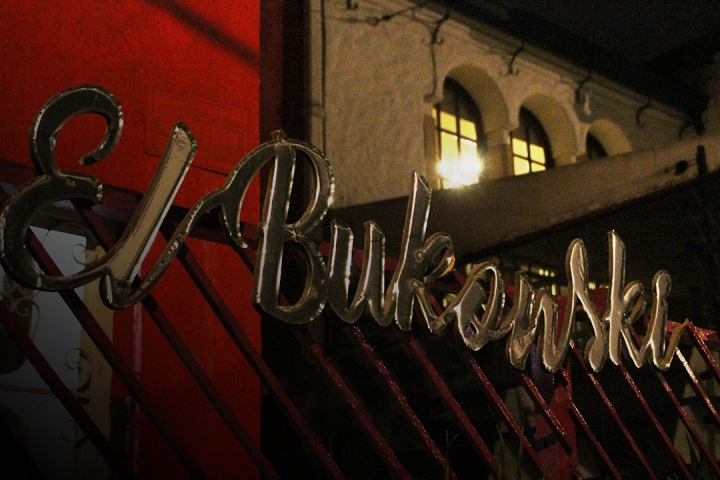 El Bukowski. Foto por: Mauricio Aguirre