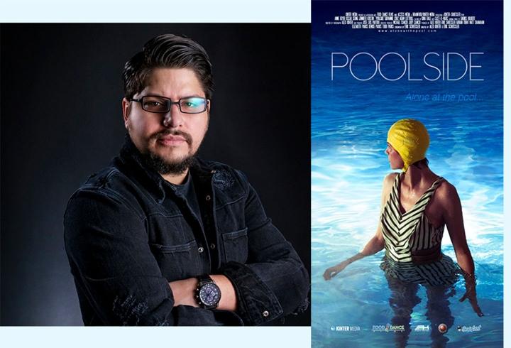 """Con su cortometraje """"Poolside"""", Kinter debuta como director en el mundo de la creación audiovisual independiente. A él y su equipo les tomó 4 años realizar esta pieza audiovisual"""