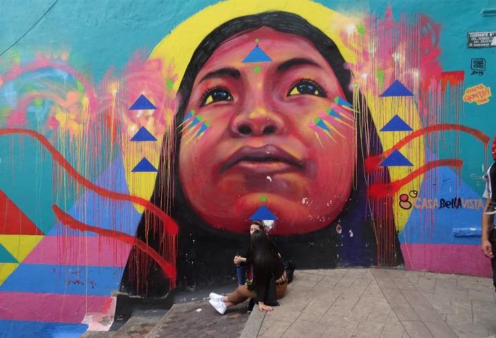 Indígena en La Candelaria