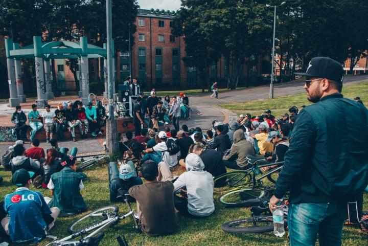 Freestyle en Ciudad Salitre. Crédito foto: cortesía de Código De Barras