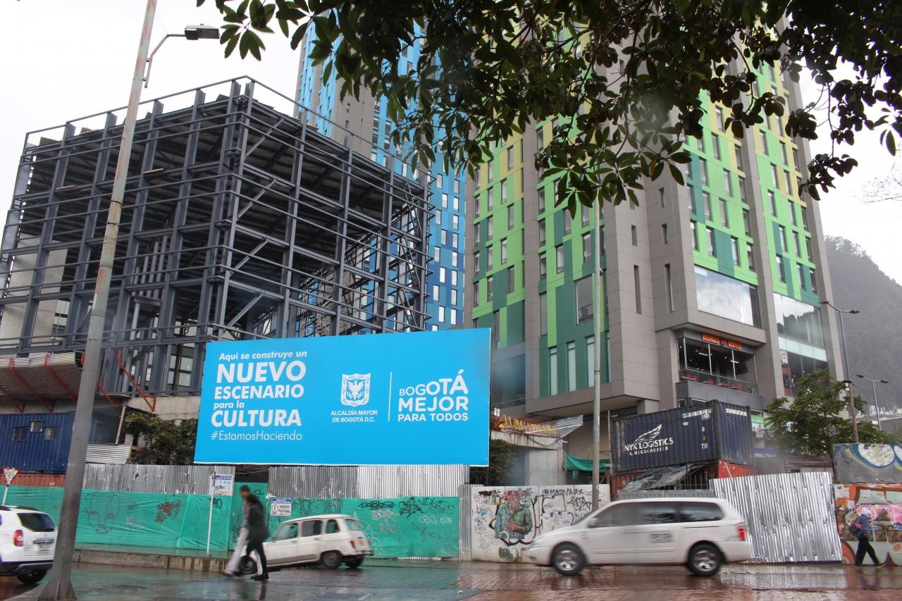 Detalles de la construcción de la nueva Cinemateca Distrital