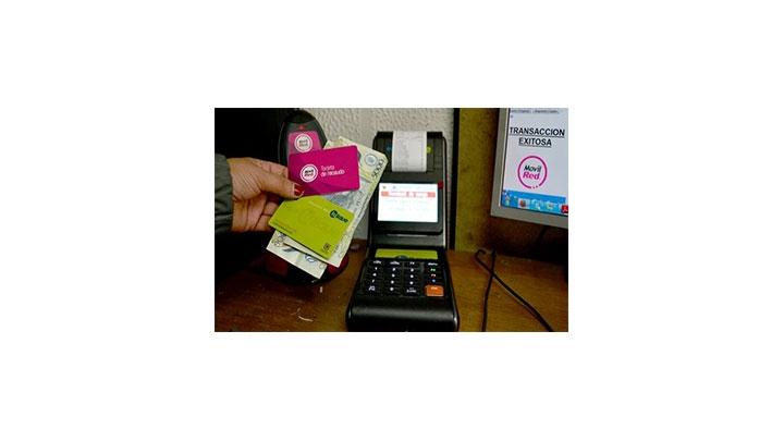 Foto: Sistema que utiliza el SITP para recargar las tarjetas.
