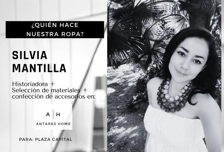 Podcast historia de Silvia Mantilla, emprendedora y confeccionista del taller de confección Antares Home