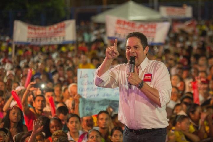 El candidato presidencial Germán Vargas Lleras.