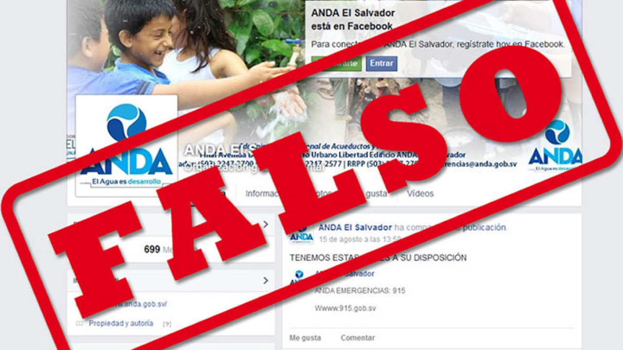 Sanciones a creadores de cuentas falsas en redes sociales
