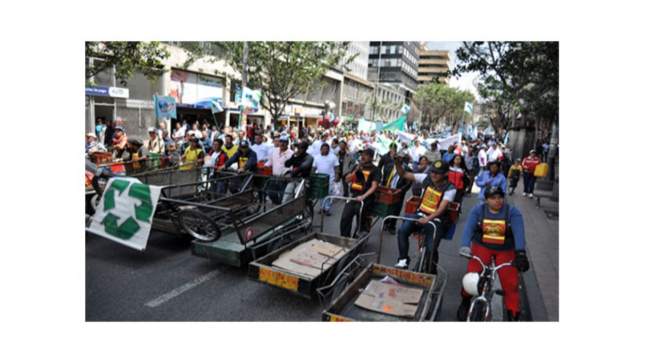 Protesta contra la reubicación
