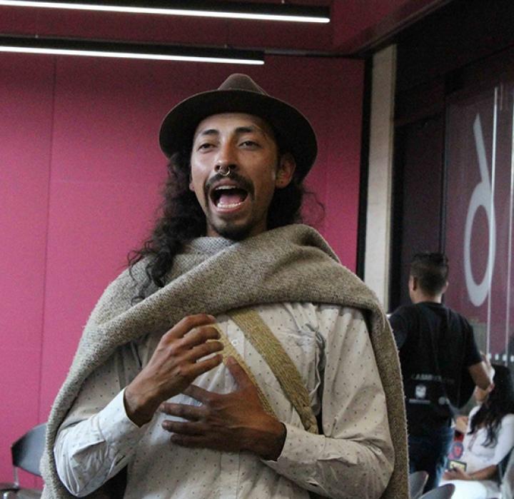 La resistencia cultural de los muiscas en la FILBO