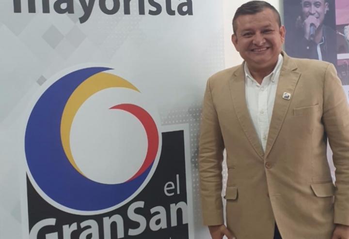 Yansen Estupiñán, gerente de El Gransan