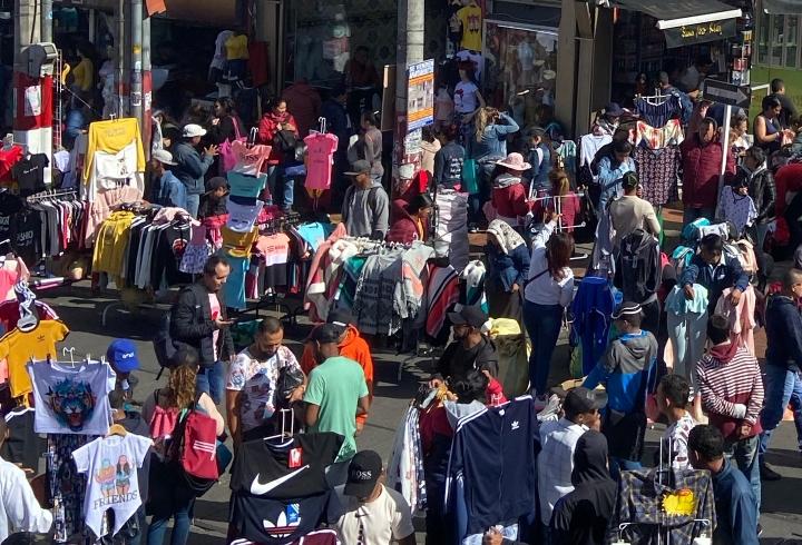 Comerciantes de San Victorino