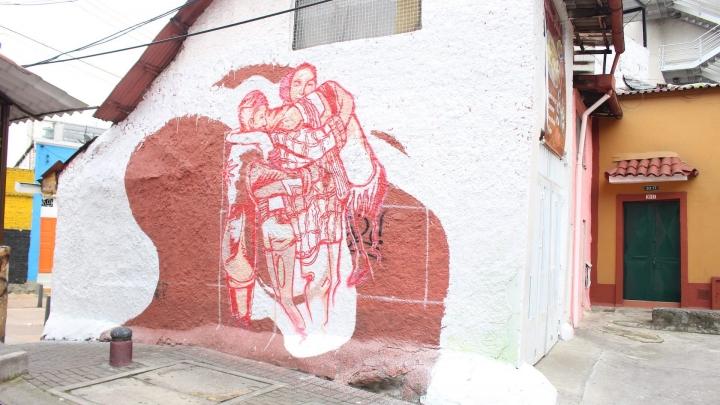 Día 2 de jornada muralismo