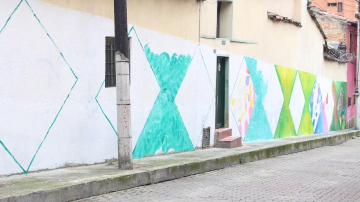 Día 1 de jornada muralismo