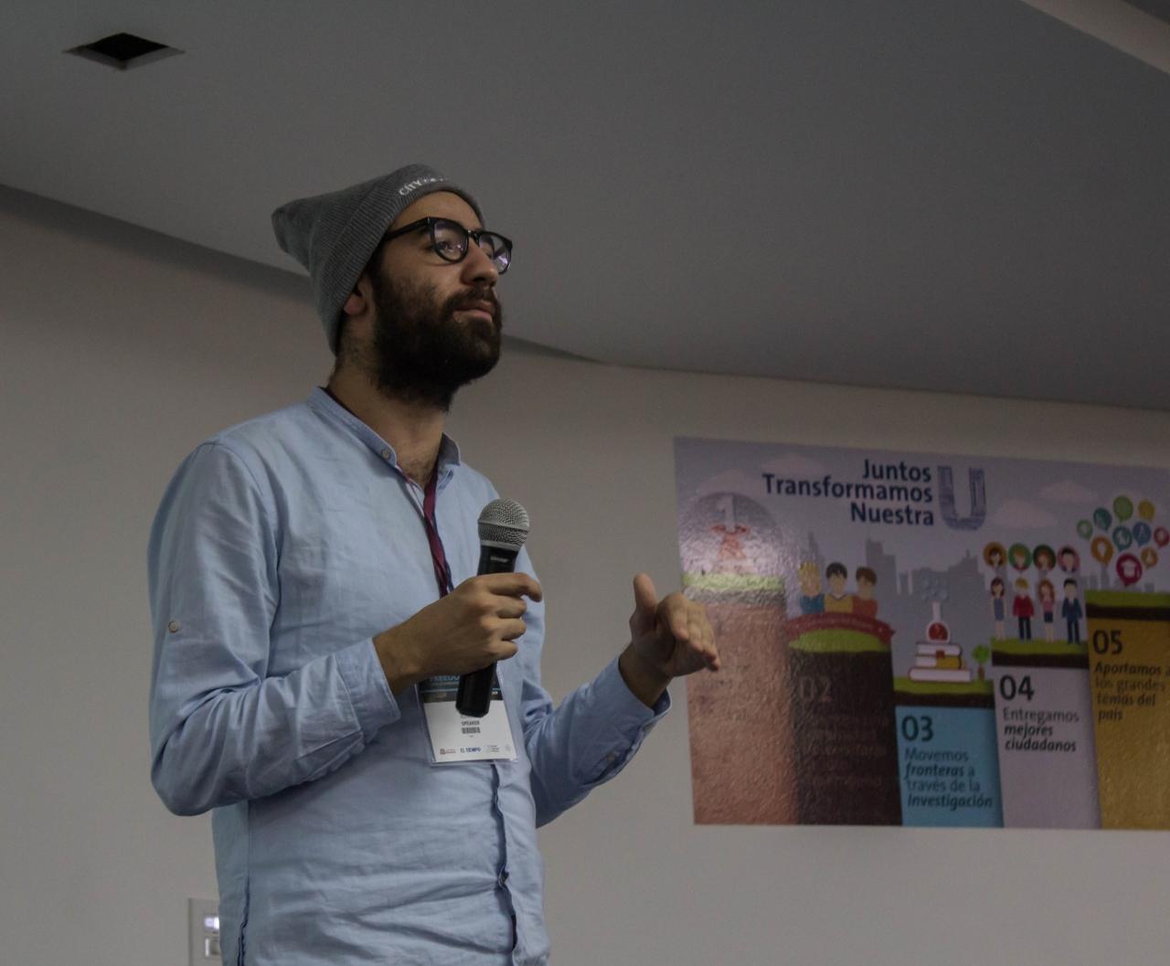 Abdalaziz Alhamza, ejemplo de activismo sirio llevado al periodismo