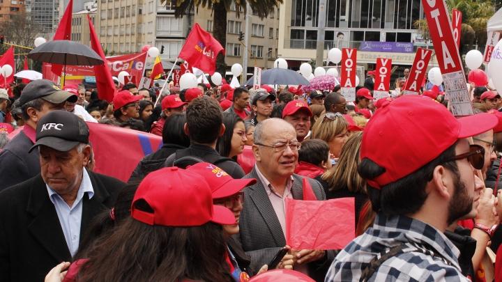 Así se vivió el cierre de campaña de Humberto De la Calle