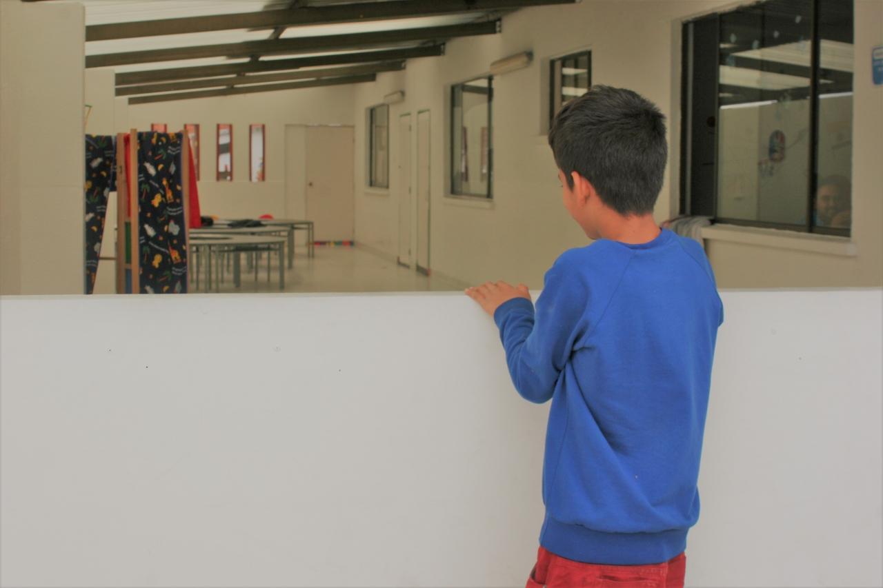 Primer Centro Abrazar de Bogotá busca reducir los niveles de mendicidad infantil