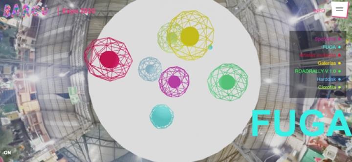 Ilustración 4. Plataforma de exposición virtual de BARCU