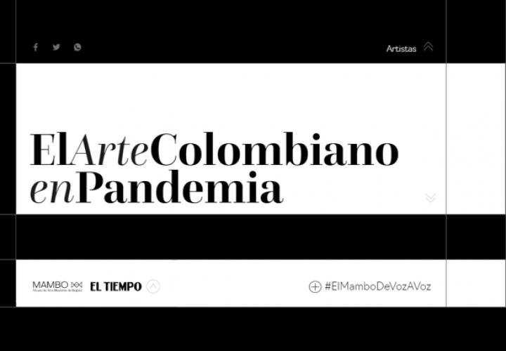 Ilustración 3. Proyecto El Arte Colombiano en Pandemia