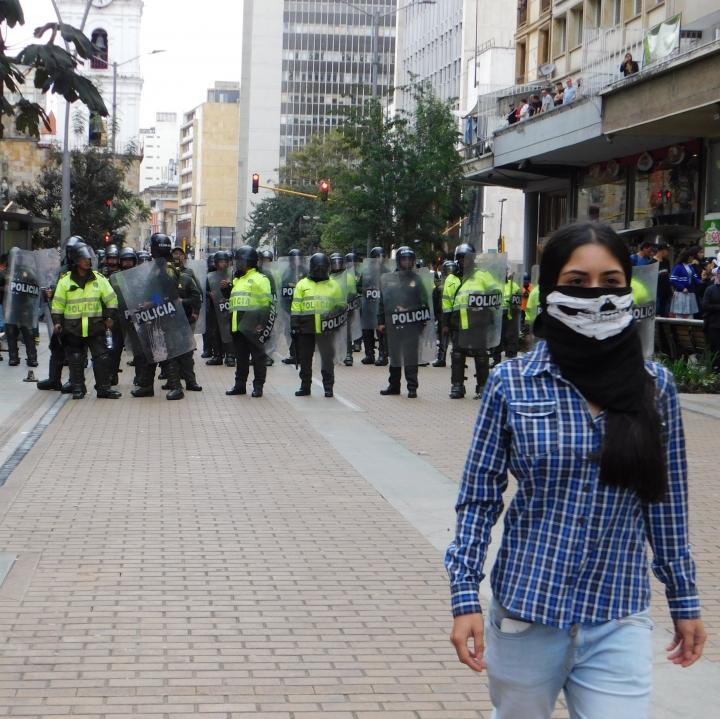 Estudiantes y docentes protestaron por un mejor acceso y calidad en la educación superior