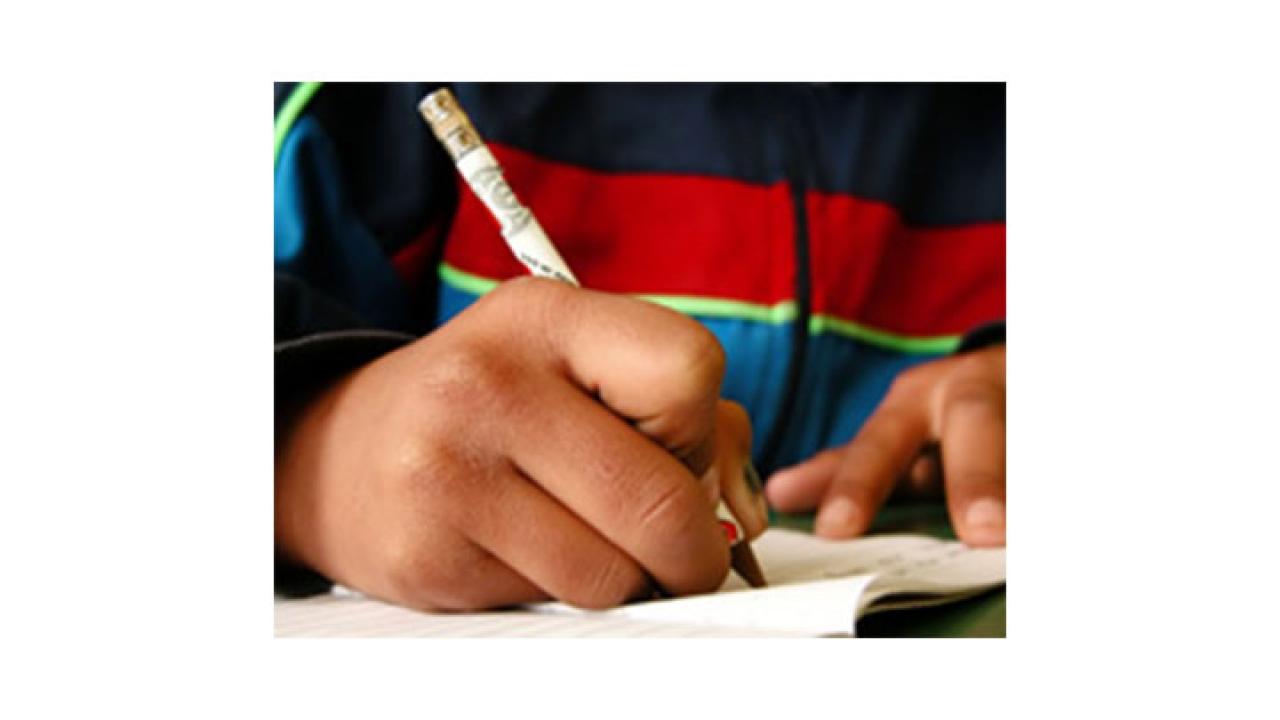 Volver a estudiar, la agonía de los niños desplazados