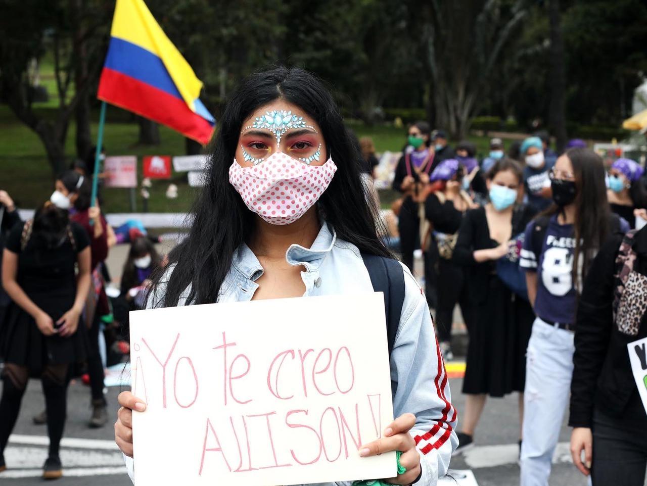 Se reportan unas 18 víctimas de violencia sexual durante el Paro Nacional, según denuncian Temblores.org e Indepaz